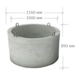 ЖБИ кольцо КС 10-9