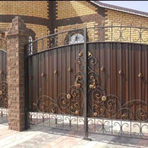 Кованные калитки и ворота
